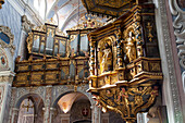 Interior of the Monastery Church, Convent Goettweik, UNESCO World Heritage Site The Wachau Cultural Landscape, Lower Austria, Austria