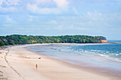 Joannes beach Praia de Joannes on Marajo island in the Brazilian Amazon, Para, Brazil, South America