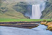 Skogafoss Waterfall, Skogar, South Region Sudurland, Iceland, Polar Regions