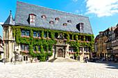 City Hall, Quedlinburg, UNESCO World Heritage Site, Harz, Saxony-Anhalt, Germany, Europe