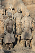 Museum of the Terracotta Warriors, Mausoleum of the first Qin Emperor, Xian, Shaanxi Province, China, Asia