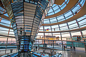 the reichstag palace houses the bundestag, the german national parliamentary assembly, berlin, germany