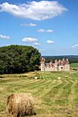 the 15th century chateau de sendat, la reunion near casteljaloux, lot-et-garonne (47), france