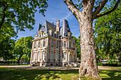 chateau conti, isle-adam, (95) val d'oise, ile de france, france