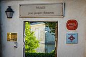 jean jacques rousseau house-museum, montmorency, (78) yvelines, ile de france, france