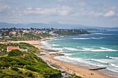 ouhabia beach, bidart, (64) pyrenees-atlantiques, aquitaine