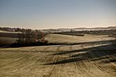Landschaft bei Rainau, bei Aalen, Ostalbkreis, Baden-Württemberg, Deutschland