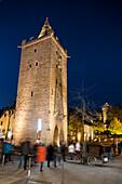 Johannistor city gate, Jena, Thuringia, Germany, Europe