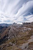 Tsanfleuron Glacier, Bernese Alps, canton of Valais, Switzerland