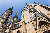 The Saint Ludgerus cathedral in Billerbeck, neo-Gothic Catholic pilgrimage church, diocese Münster, Billerbeck, North Rhine-Westphalia, Germany
