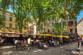 Place Richelme, Aix-en Provence, Bouches-du-Rhone, Provence-Alpes-Cote d'Azur, France