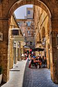 Alley at Aix-en-Provence, Bouches-du-Rhone, Provence-Alpes-Cote d'Azur, France