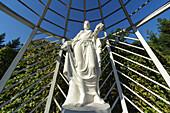 Statue Russischer Garten, Schlosspark Belvedere, Weimar, Thüringen, Deutschland