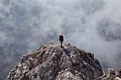 Sass Rigais, Odle group, Dolomites, South Tyrol, Bolzano, Italy.