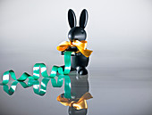 Hare, Rabbit with sticky tape, Sticky tape rabbit, Easter