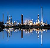 Raffinerie Heide Hemmingstedt, Schleswig-Holstein, Deutschland