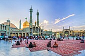 Iran, Qom City, Hazrat-e Masumeh (Holy Shrine).