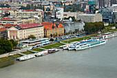 National Museum and School of Engeneering at Bratislava (Pressburg) , River Danube , Slovakia , Europe