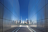 Empty Sky September Eleventh Memorial (Jamroz / Schwartz) Liberty State Park New Jersey Usa.