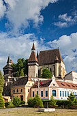 Romania, Transylvania, Biertan, 15th century fortified Saxon Church.