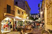 restaurantes del centro, Alcudia,islas baleares, Spain.
