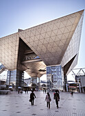 Tokyo Big Sight - Tokyo International Exhibition Center - The Conference Tower. Ariake, Odaiba, Tokyo, Japan.
