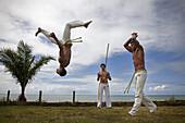 Capoeira, Trancoso. Salvador de Bahia. Brazil.