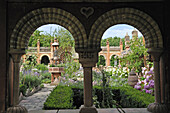 The Secret Gardens, an unusual site at Vaulx, Haute-Savoie department, Rhone-Alpes region, France, Europe.