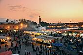 Place Jemaa el-Fna, Marrakesh, Morocco