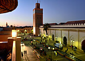 Mosque of the Kasbah, Marrakesh, Morocco