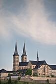 view towards monastry church of St. MIchael, Bamberg, Frankonia Region, Bavaria, Germany, UNESCO World Heritage