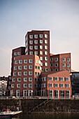 Frank Gehry buildings at Media Harbour, Duesseldorf, North Rhine-Westphalia, Germany