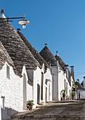 Trulli houses at Alberobello, Puglia, Italy.