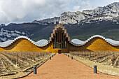Ysios winery, Laguardia, Rioja Alavesa, Araba, Basque Country, Spain.