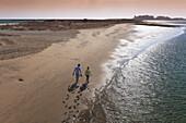 Punta del Caiman beach, Isla Cristina, Huelva province, Region of Andalusia, Spain, Europe.