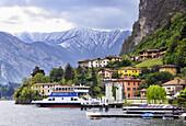 Menaggio, province Como, Lombardy, northern Italy, western shore of Lake Como.