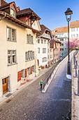 Old town Aarau, Canton Aargau, Switzerland.
