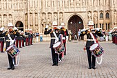 Armed Forces Day Celebrations at the Exeter Cathedral, Exeter, Devon, United Kingdom, Europe, 21rd June, 2014.