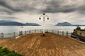 Beautiful Street Lamp, Stresa, Lake Maggiore, Italy.