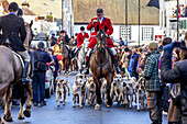 The Southdown and Eridge Hunt´s Boxing Day Meeting, Lewes, Sussex, England.