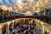 Shops and Restaurants, Covent Garden, London, England.