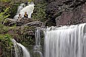 Glen Onoko Falls, Lehigh Falls, Jim Thorpe, Pennsylvania