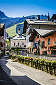 Austrian village of Kitzbuhel in the Tyrol.