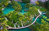 Plitvice Lakes National Park is one of the oldest national parks in Southeast Europe and the largest national park in Croatia. In 1979, Plitvice Lakes National Park was added to the UNESCO World Heritage register. The national park was founded in 1949 and