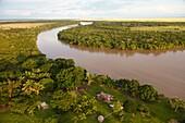 Cravo sur river, Eastern Plains, Orinoquia region, Casanare department, Colombia, America.