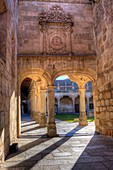 The university of Salamanca Minor Schools courtyard.