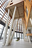 Building eco-intelligent architecture with zero emissions. Enertic Building. Martutene. Donostia San Sebastian. Gipuzkoa. Basque Country. Spain.