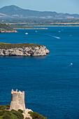 'View of Capo Caccia; Capo Caccia, Sardinia, Italy'