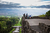 'NoneThe view atop the Hercules monument; Kassel, Germany'