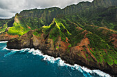 'View of the Na Pali Coast; Kauai, Hawaii, United States of America'
